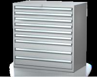 Dielenské zásuvkové skrine 21U - š 1014 xh 600 mm DKP 5427 21U 9