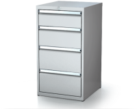 Dielenské zásuvkové skrine 21U - š 555 xh 600 mm DKP 2727 21U 4