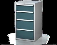 Dílenské zásuvkové skříně 21U - š 555 x h 600 mm DKP 2727 21U 4AA
