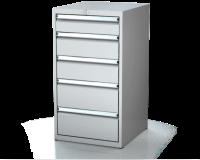 Dielenské zásuvkové skrine 21U - š 555 xh 600 mm DKP 2727 21U 5