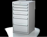 Dielenské zásuvkové skrine 21U - š 555 xh 600 mm DKP 2727 21U 6