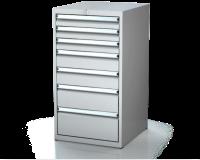 Dielenské zásuvkové skrine 21U - š 555 xh 600 mm DKP 2727 21U 7
