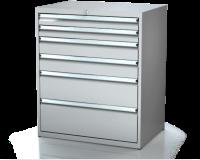 Dielenské zásuvkové skrine 21U - š 860 xh 600 mm DKP 4527 21U 6