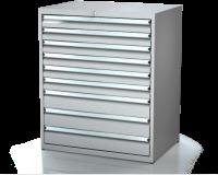 Dielenské zásuvkové skrine 21U - š 860 xh 600 mm DKP 4527 21U 9