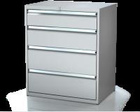 Dielenské zásuvkové skrine 21U - š 860 xh 750 mm DKP 4536 21U 5