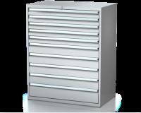 Dielenské zásuvkové skrine 26U - š 1014 xh 600 mm DKP 5427 26U 10