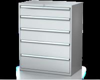 Dielenské zásuvkové skrine 26U - š 1014 xh 600 mm DKP 5427 26U 5