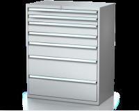 Dielenské zásuvkové skrine 26U - š 1014 xh 600 mm DKP 5427 26U 7