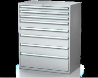 Dielenské zásuvkové skrine 26U - š 1014 xh 600 mm DKP 5427 26U 8