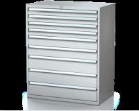 Dielenské zásuvkové skrine 26U - š 1014 xh 750 mm DKP 5436 26U 9