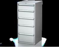 Dielenské zásuvkové skrine 26U - š 555 xh 600 mm DKP 2727 26U 5