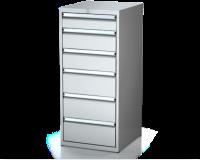 Dielenské zásuvkové skrine 26U - š 555 xh 600 mm DKP 2727 26U 6