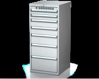 Dielenské zásuvkové skrine 26U - š 555 xh 600 mm DKP 2727 26U 7K EH