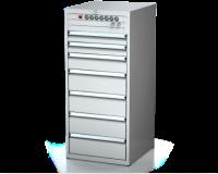Dielenské zásuvkové skrine 26U - š 555 xh 600 mm DKP 2727 26U 7L EVH