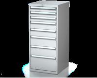 Dielenské zásuvkové skrine 26U - š 555 xh 600 mm DKP 2727 26U 8