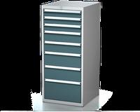 Dílenské zásuvkové skříně 26U - š 555 x h 600 mm DKP 2727 26U 8AB