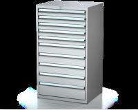 Dielenské zásuvkové skrine 26U - š 710 xh 600 mm DKP 3627 26U 10