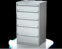 Dielenské zásuvkové skrine 26U - š 710 xh 600 mm DKP 3627 26U 5