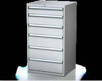 Dielenské zásuvkové skrine 26U - š 710 xh 600 mm DKP 3627 26U 6