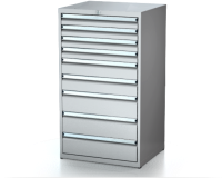Dielenské zásuvkové skrine 26U - š 710 xh 600 mm DKP 3627 26U 9
