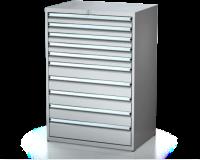 Dielenské zásuvkové skrine 26U - š 860 xh 600 mm DKP 4527 26U 10