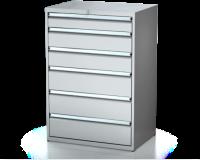 Dielenské zásuvkové skrine 26U - š 860 xh 600 mm DKP 4527 26U 6