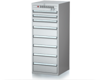 Dielenské zásuvkové skrine 29U - š 555 xh 600 mm DKP 2727 29U 8L EVH