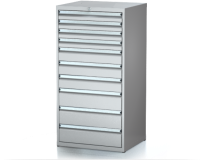 Dielenské zásuvkové skrine 29U - š 710 xh 600 mm DKP 3627 29U 10
