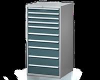 Dílenské zásuvkové skříně 29U - š 710 x h 750 mm DKP 3636 29U 10AB