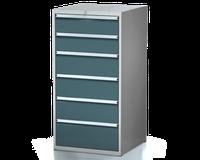 Dílenské zásuvkové skříně 29U - š 710 x h 750 mm DKP 3636 29U 6AA