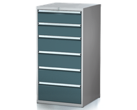 Dílenské zásuvkové skříně 29U - š 710 x h 750 mm DKP 3636 29U 6AB