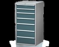Dílenské zásuvkové skříně 29U - š 710 x h 750 mm DKP 3636 29U 7AC