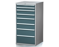 Dílenské zásuvkové skříně 29U - š 710 x h 750 mm DKP 3636 29U 8AB