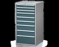 Dílenské zásuvkové skříně 29U - š 710 x h 750 mm DKP 3636 29U 9AB