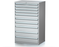 Dielenské zásuvkové skrine 29U - š 860 xh 600 mm DKP 4527 29U 10