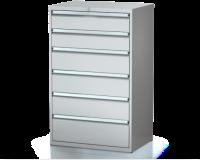 Dielenské zásuvkové skrine 29U - š 860 xh 600 mm DKP 4527 29U 6