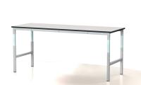 Dielenský stôl - nastaviteľná výška, šírka 2000 mm