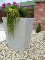 Kvetináč - betón MM800018