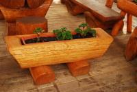 Kvetináč - drevo MM700246