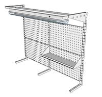 Nástavby dílenských stolů NAS_15_1P200_OT