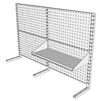 Nástavby dílenských stolů NAS_15_1P300