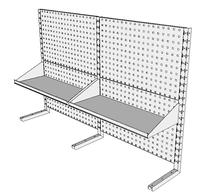 Nástavby dílenských stolů NAS_15_2P300