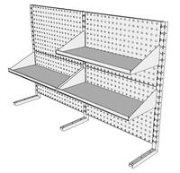Nástavby dílenských stolů NAS_15_3P300