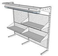 Nástavby dílenských stolů NAS_15_3P300_OT