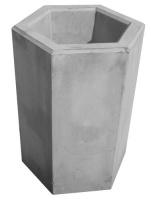 Odpadkový kôš - betón-oceľ MM800039