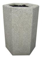 Odpadkový kôš - betón-oceľ MM800040