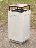 Odpadkový kôš - betón-oceľ MM800216