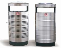Odpadkový kôš - nerez MM700387