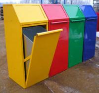 Odpadkový kôš - oceľ MM700157