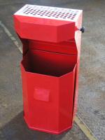 Odpadkový kôš - oceľ MM700173